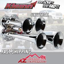 Kleinn Air Horn Model 141 Compact Quad air horn with Chrome Plated Trumpets