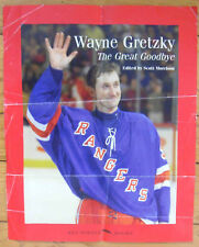 """1999 Wayne Gretzky 'The Great Goodbye' Book Store Poster, 13""""x16"""""""