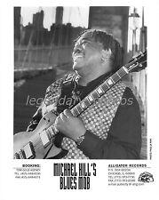 Michael Hill's Blues Mob   Alligator Records Original Music Press Photo