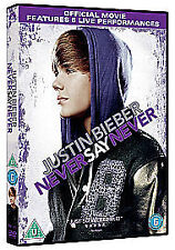 Justin Bieber - Never Say Never  (DVD, 2011)