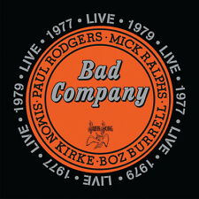 Bad Company Live In Concert 1977 & 1979 - 2 DISC SET - Bad Compa (2016, CD NEUF)