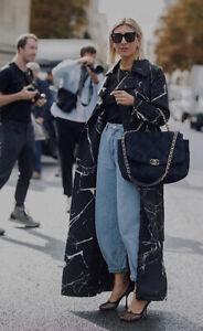 Zara Light Blue High-waisted Sloughy Jeans. Size Uk 10/38