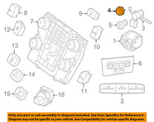 VOLVO OEM 03-14 XC90 Center Console-12V Power Outlet Cap 31346946