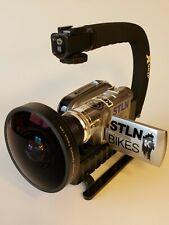 Panasonic Gs320 Camcorder - Silver skateboard wide angle lens mini dv lcd