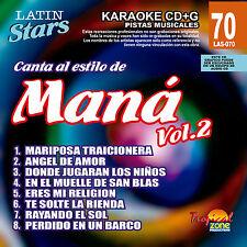 Karaoke Latin Stars 70 Mana Vol.2