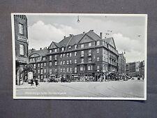 AK Waldenburg in Schlesien, Wałbrzych, Vierhäuserplatz, Echtfoto um 1930