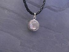Balinese Harmony Ball pendant genuine 925 silver 14mm Yinyang with cord