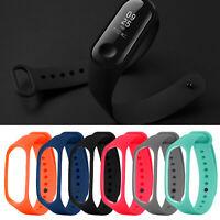 Für Xiaomi Mi Band 4 3 Strap Ersatz Armband 6PCS Silikon Armband Uhrenarmband