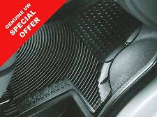 Genuine VW Transporter Kombi T5 T5GP T6 Rubber monster cab floor mats inc fixing