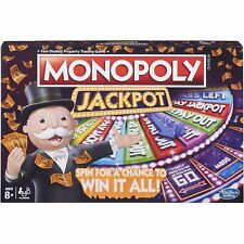 MONOPOLY JACKPOT BOARD GAME HASBRO AGE 8+ BRAND NEW & FREE UK POSTAGE!