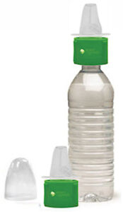 2PK Green Sprouts Spill Proof Spout Sippy Cup Water Bottle Cap Adapter - G151