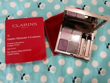 Clarins no 12 Omber minerale 4 colours eyeshadow palette vibrant light