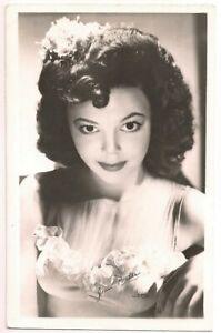Postcard Artist Signed JEAN PORTER Film & Television Actress, Kodak RPPC c.1945