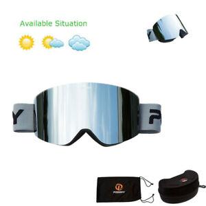 Snow Winter Sport Snowboard Ski Snowmobile Motorcycle Goggles Eyewear Glasses