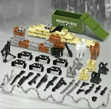 Lego COMPATIBILE : MiniFigures WW2 / MILITARY ( PACCHETTO ARMI )