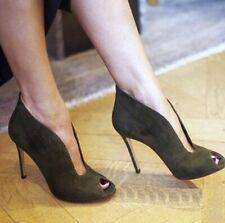 New Fashion Women Side 34-45 11cm High Heel Gladiator Sandals Shoes Pumps Europe