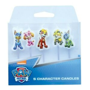 PAW Patrol Candles - 5 pce