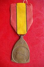 WWI BELGIUM Commemorative Medal of the War (Médaille Commémorative) 1914-1918