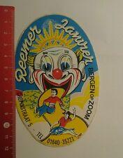 Aufkleber/Sticker: Reemer Bergen op Zoom (15071625)