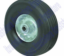 10x2.5 IN SOLID HARD RUBBER REPLACEMENT WHEEL/TIRE COMBO 5/8 AXLE BORE