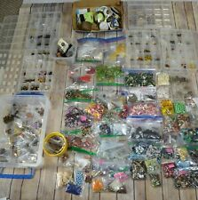 HUGE 24lb Lot Jewelry Making Supplies Beads Findings Wire + More