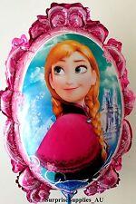 Frozen Elsa & Anna foil mirror balloon (64cm*53cm) birthday decoration AU Seller