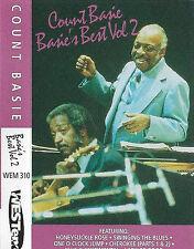 Count Basie Basie's Best Vol 2 CASSETTE ALBUM 1993 Westend WEM 310