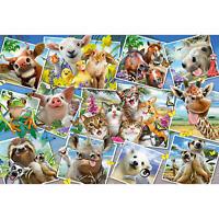Schmidt Spiele Tierische Selfies 200 Teile Kinderpuzzle Steckpuzzle Puzzlemotiv