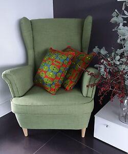 Home Decor Handmade Cotton Cushion Pillow Covers African Print Wax 45x45cm Gift