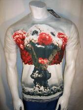 Nuevo Mr. 1991 Inc & Miss Damas/adolescente talla XXL poliéster/Spandex Atomic Payaso T-Shirt