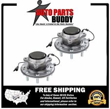 2 Silverado 2500HD 3500HD Front Wheel Hub Bearing Assembly RWD Dual Rear Wheel