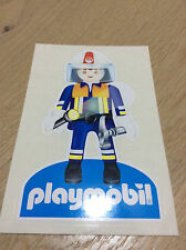 STICKERS STICKS AUTOCOLLANT playmobil POMPIERS VOITURE CAMION  NEUF