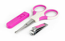 BRAND NEW BABY MANICURE SET WITH SCISSORS AND NAIL CLIPPERS NEW BORN BABY CARE