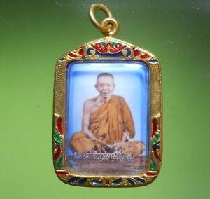 BEAUTIFUL OLD LP KOON THAI BUDDHA AMULET REAL RARE !!!