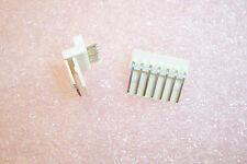 QTY (50) 5046-07A MOLEX 7 POSITION R/A FRICTION LOCK HEADER 2.5mm (22-05-1072)