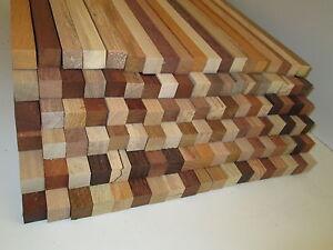 20 Stk Penblank 40x2x2 Pen-Blank,Schinkenbrett,Cutting Board,Bastelholz,Penblank