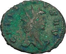 GALLIENUS son of Valerian I  Ancient Roman Coin Peacefull Mars Cult  i34166