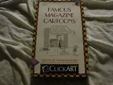FAMOUS MAGAZINE CARTOONS CLICKART CLIP ART NEW YORKER OMNI PC MAC CD ROM COMPLTE