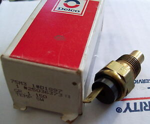 NOS GM  Delco Coolant Temperature Switch 25036373 ~ D1897