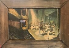 """Large 26""""X 16"""" Vintage The Ballet By Charles Mozley Print Limited Edition Framed"""