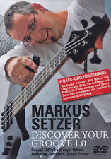 MARKUS SETZER - 2 DVD - DISCOVER YOUR GROOVE 1.0  ( Neu )