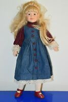 """Unknown Porcelain Doll 24"""" for OOAK, Custom Fashion, Play or Display"""