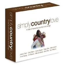 SIMPLY COUNTRY LOVE 4 CD NEW!