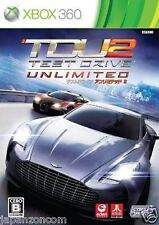 Used Xbox 360 Test Drive Unlimited 2 MICROSOFT JAPAN JAPANESE JAPONAIS IMPORT