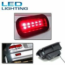 JDM Style Civic Acura Accord Rear Bumper Red Fog Brake Light Lamp EK9 EG6 LED EG