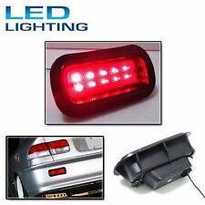 JDM Style Civic Acura Accord Rear Bumper Red Fog Brake Light Lamp EK9 EG6 LED EG