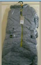mothercare velour lined snowbag// pramsuit rrp £30.00