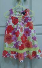 Pumpkin Patch sz 3 Fully Lined Floral Summer Dress