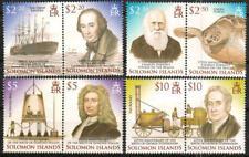Solomon Islands - Charles Darwin, Edmund Halley, George Stephenson - NH