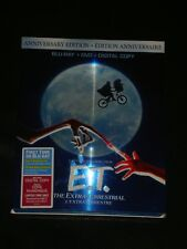 Blu-Ray movie E.T. ANNIVERSARY EDITION, DvD and Digital Copy Included, Spielberg
